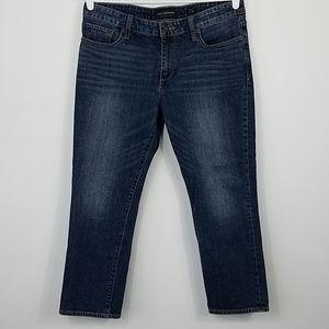 Lucky Brand Sweet Crop High Waist Boho Jeans